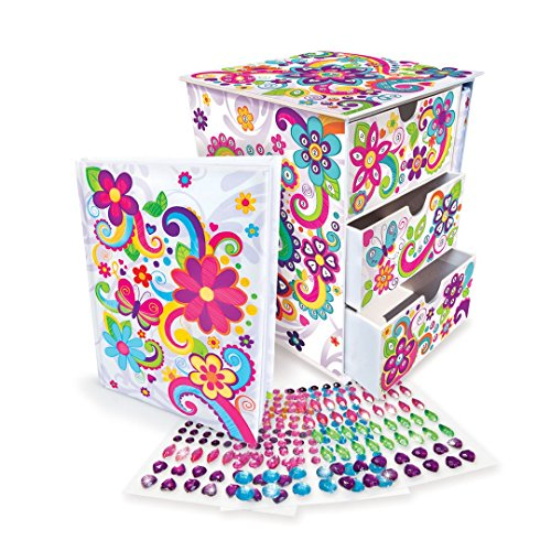 The Orb Factory Sticky Mosaics Journal & Jewel Jewelry Box by The Orb Factory (Image #1)