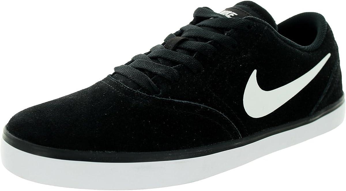 Nike Men s Sb Check Black White Skate Shoe