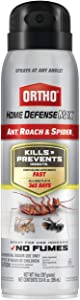 Ortho 4388710 Home Defense Max, Roach and Spider1: Indoor Insect Spray, Kills Ants, Beetles, Cockroaches and Spiders (as Listed), No Fumes, 14 oz