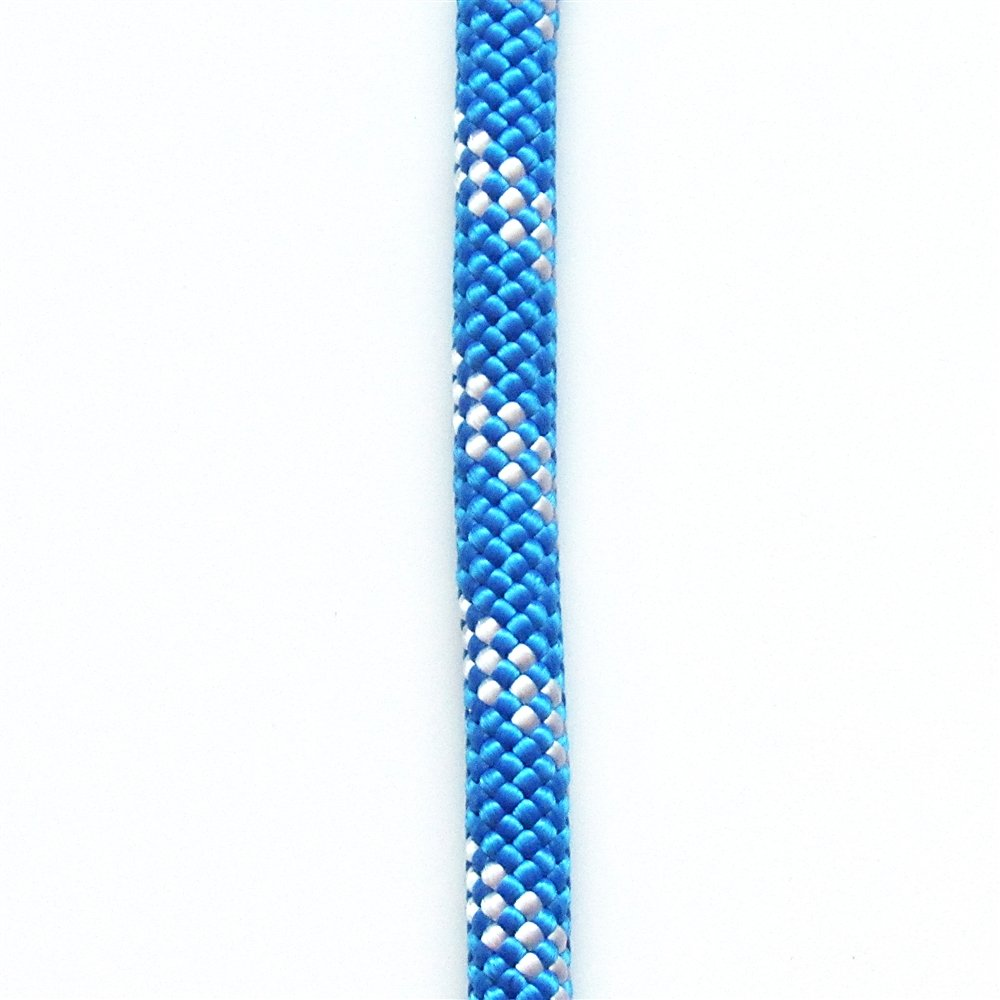 OPG ATAR static kernmantle rescue climbing rope 11mm x 200 feet high visibility Blue UL ANSI NFPA USA 33.3kN
