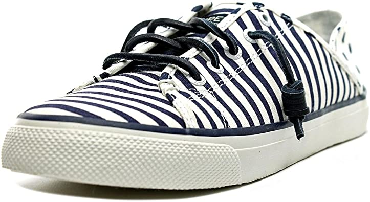 Seacoast Isle Painted Stripe Sneaker