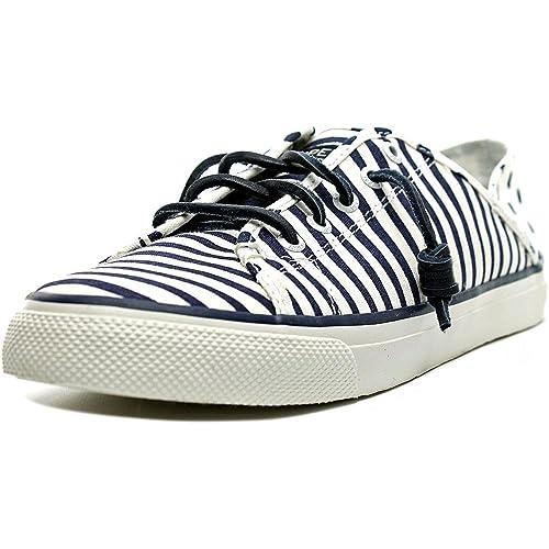 a48b347340231 Sperry Top-Sider Women's Seacoast Isle Painted Stripe Sneaker