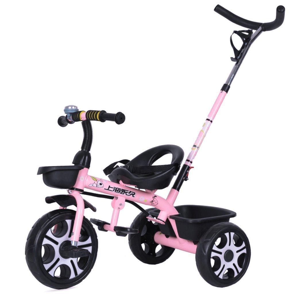 Fenfen子供の三輪車ベビーBike 1 – 6赤ちゃんベビーカーキッズバイク調整可能ベビーCarriage、ピンク、60101 CM B07C8BB785