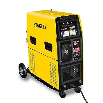 Stanley - Welding st-topmig2500pu - equipo de soldadura inverter mma-mig-mag-mog-tig. 240 a.: Amazon.es: Bricolaje y herramientas
