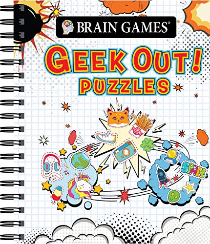 Pdf Entertainment Brain Games - Geek Out! Puzzles