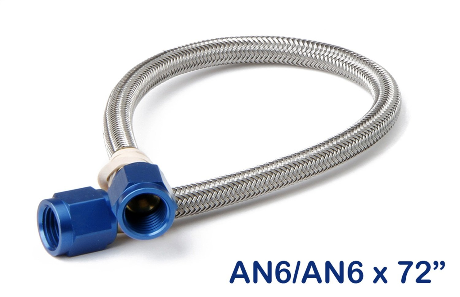 6AN Braided Hose 6 Feet NOS//Nitrous Oxide System NOS 15430NOS Stainless Steel