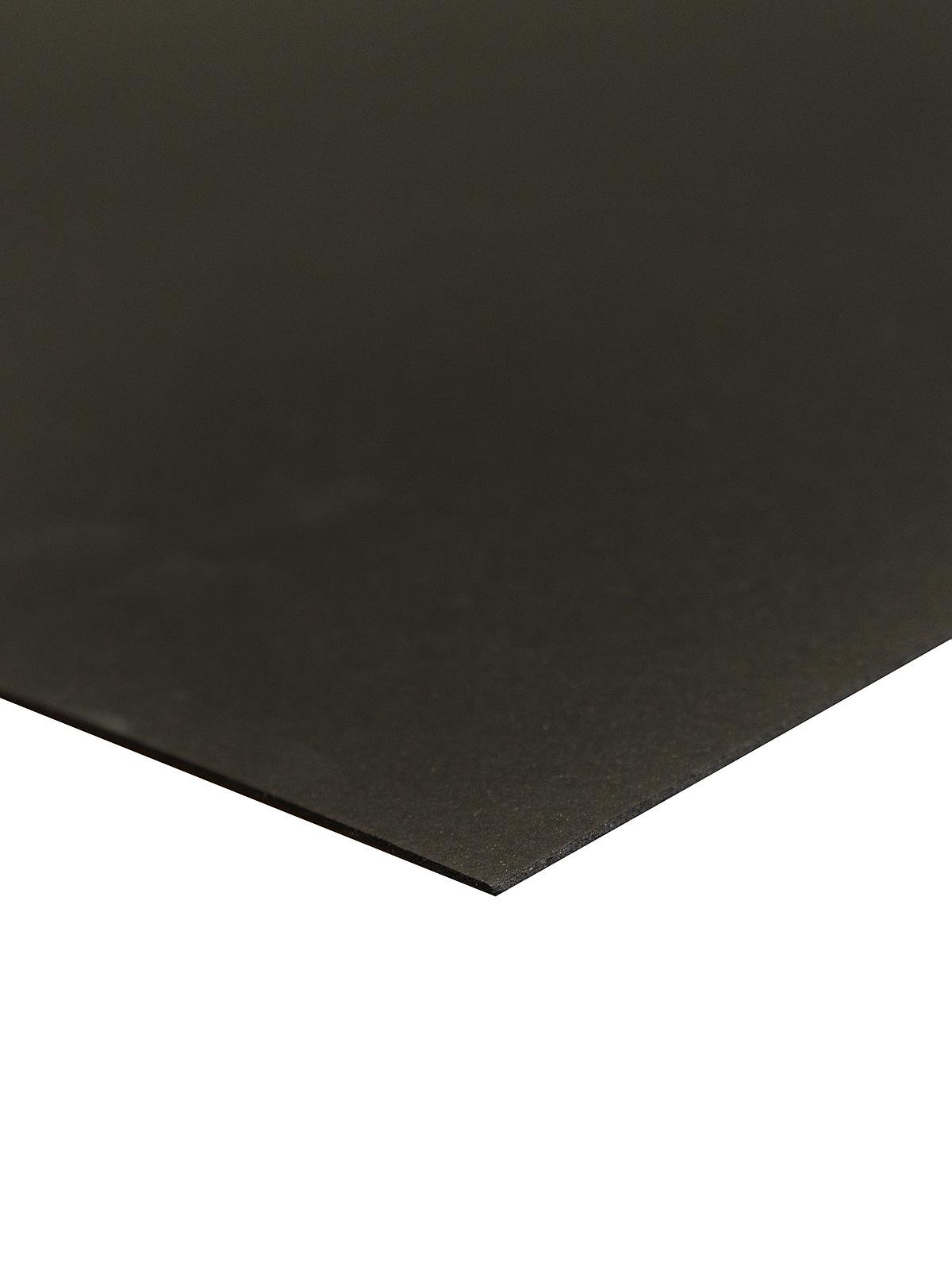 Crescent #6008 Ultra Black Smooth Board 15''x20'' (15 Sheets) by Ultra Black Smooth Display Boards