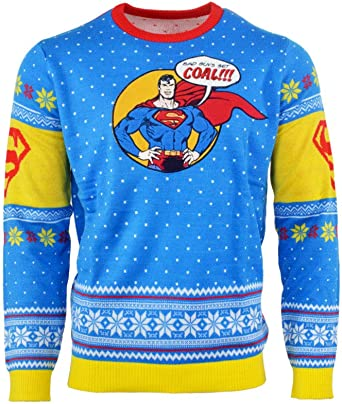 Batman Christmas Jumper Ugly Xmas Sweater Present Gift Unisex Adults /& Kids