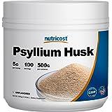 Nutricost Psyllium Husk Powder 500 Grams, 5g Per Serving