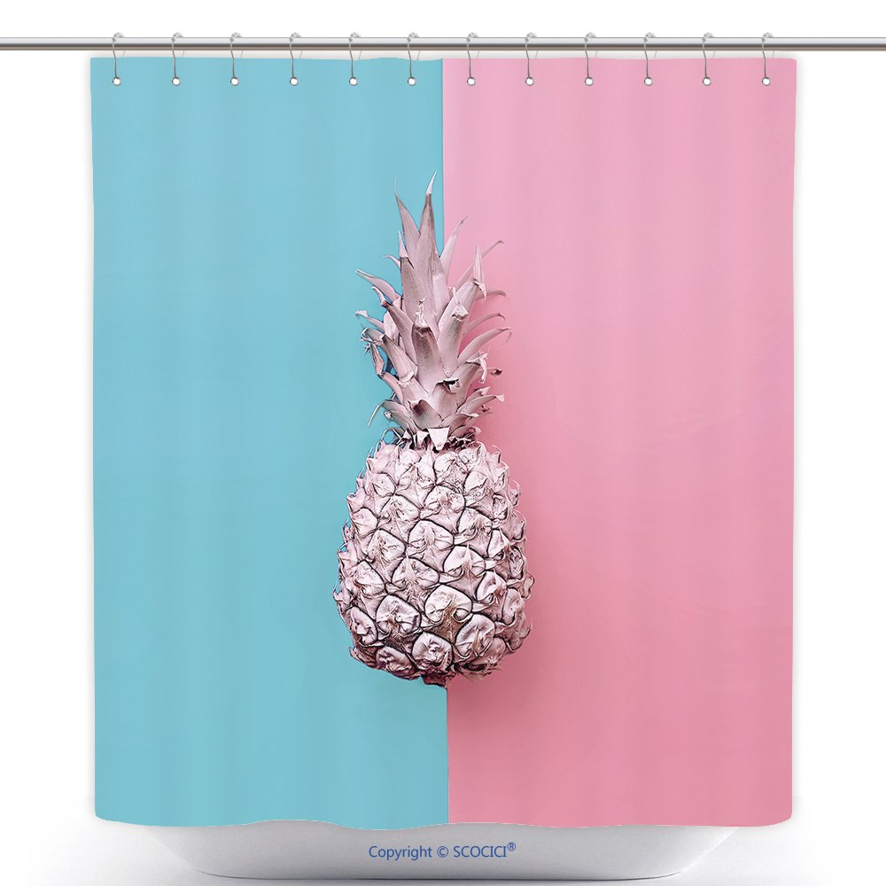 Amazon.com: Funky Shower Curtains Fashion Fake Pineapple On ...