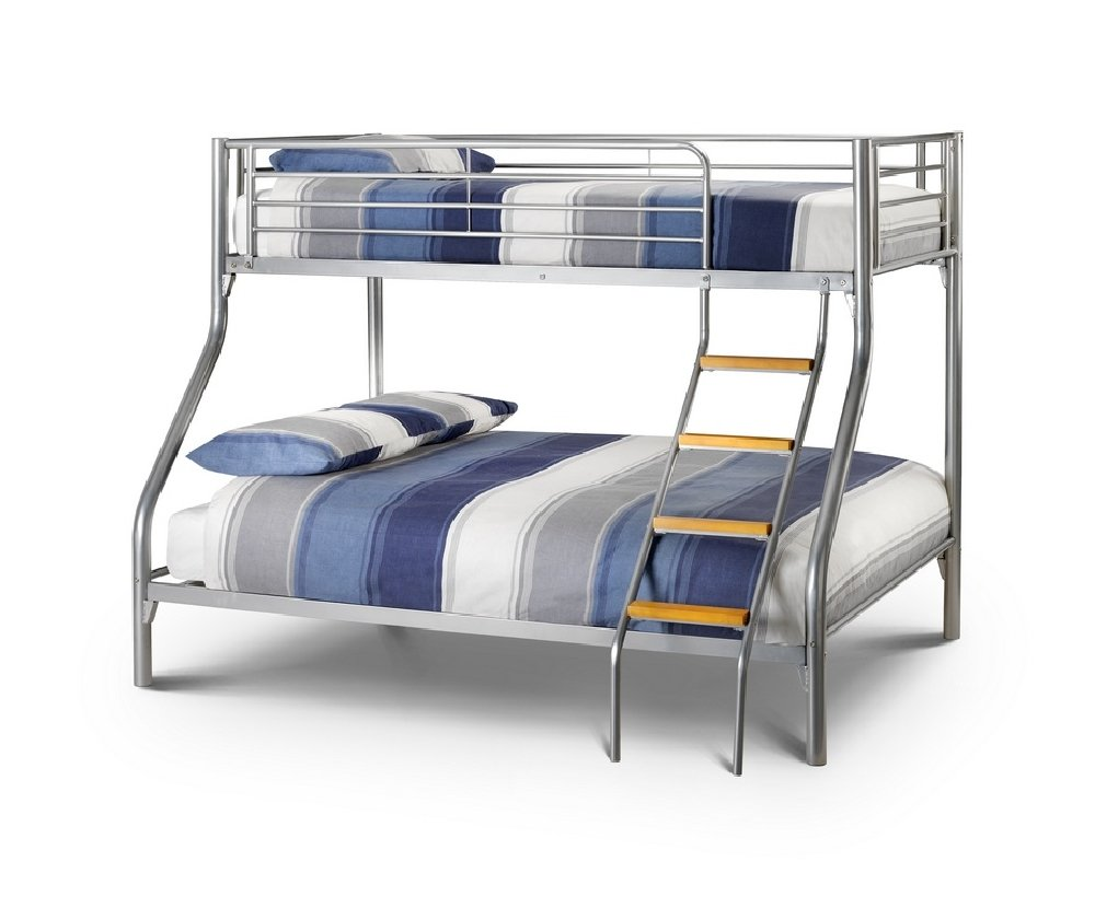 Triple bunk beds for sale image of triple bunk bed plans for Bunk bed with double on bottom
