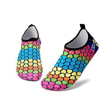 GEZICHTA Calcetines de neopreno unisex, multicolor, para acuáticos, para buceo, buceo,