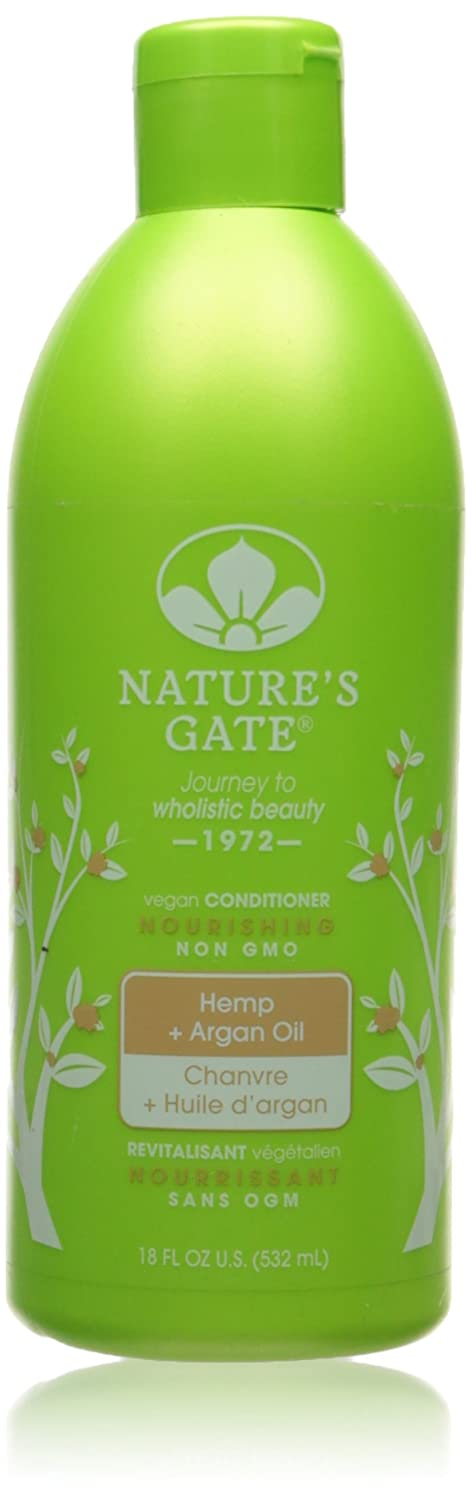 Hemp & Argan Oil Nourishing Conditioner Nature's Gate 18 oz Liquid