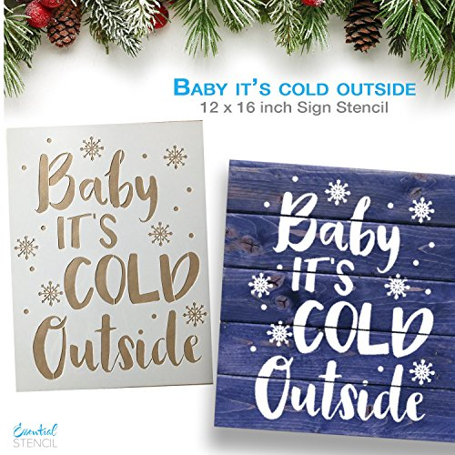Large Christmas Stencils For Wood.Essential Stencil Large Christmas Stencils 3 Pack Baby