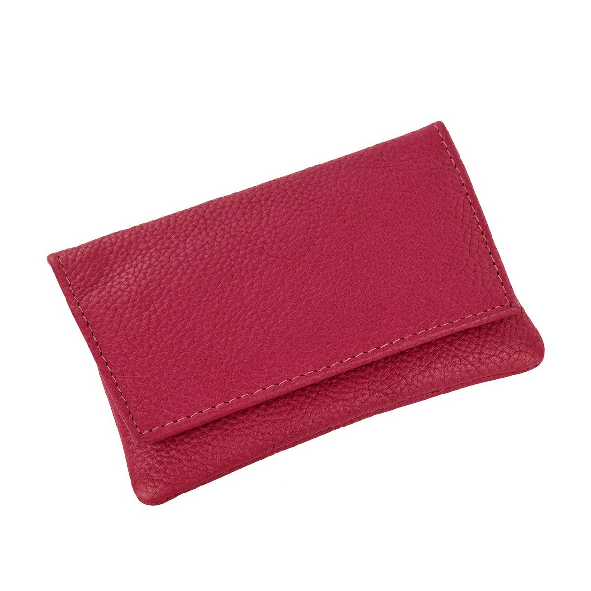 GTR-Prestige Giftware Smoking Accessories P35539OR GBD Mini Orange Leather Patterned Roll Your Own Tobacco Pouch