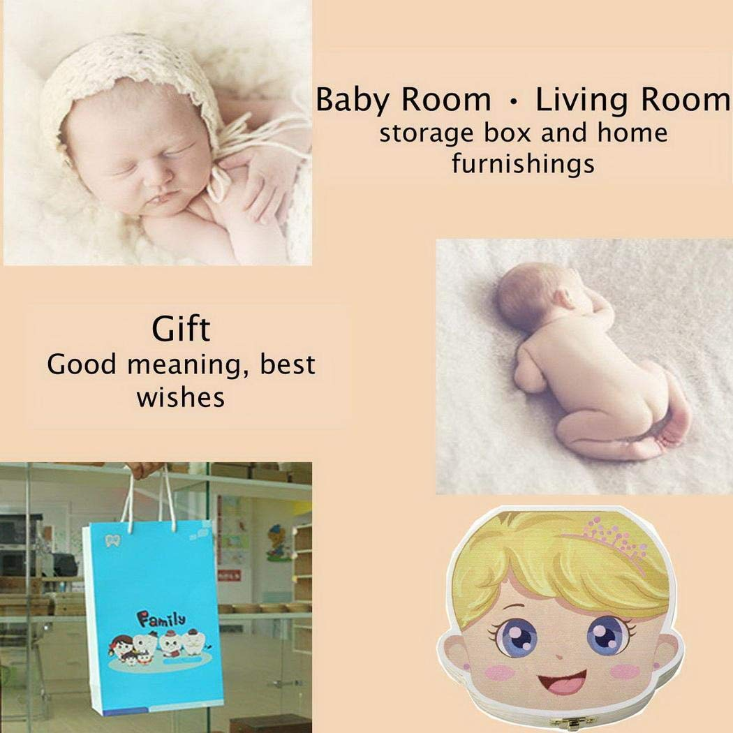 personalizar personalizada beb/é dientes caja AIMADO beb/é dientes caja Save cajas de madera personalizada caja de recuerdos de hoja caduca