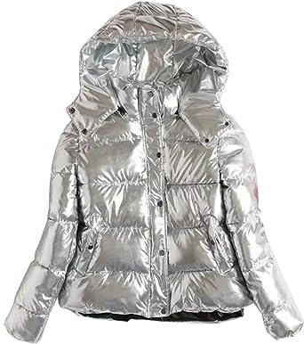 Yeesea À Court Capuche Chaud Femme Hiver Automne Jacket Veste L4jq35AR