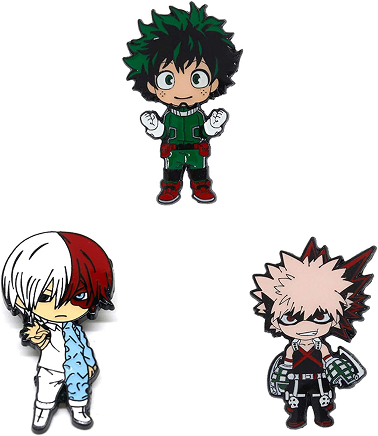 Miss House My Hero Academia Badge Alloy Anime Brooch Pin Badge Button Pack