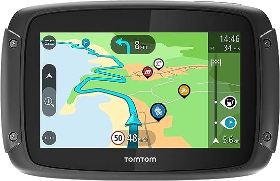 Tomtom Rider 50 Motorcycle Sat Nav Navigation Car Hifi