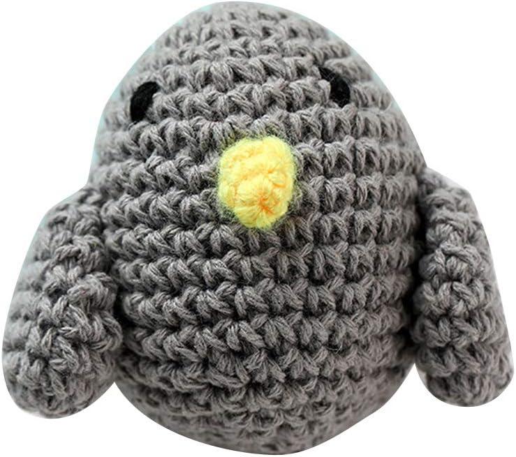 Yuanshenortey Baby Schnuller Kette Zubeh/ör Handgemachte Geh/äkelte Baumwolle Vogel Geformt Neugeborene Bei/ßring Spielzeug