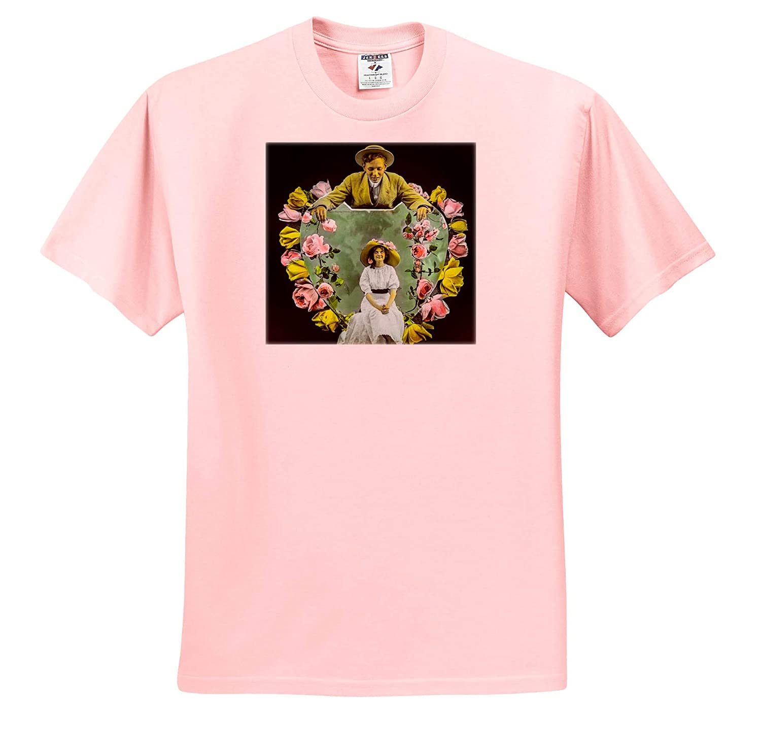 T-Shirts Scott and Van Altena Sing Along Slide You are in My Heart 3dRose Scenes from The Past Magic Lantern