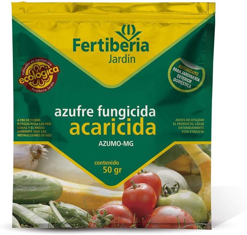 Fungicida acaricida azufre Fertiberia 200 gr