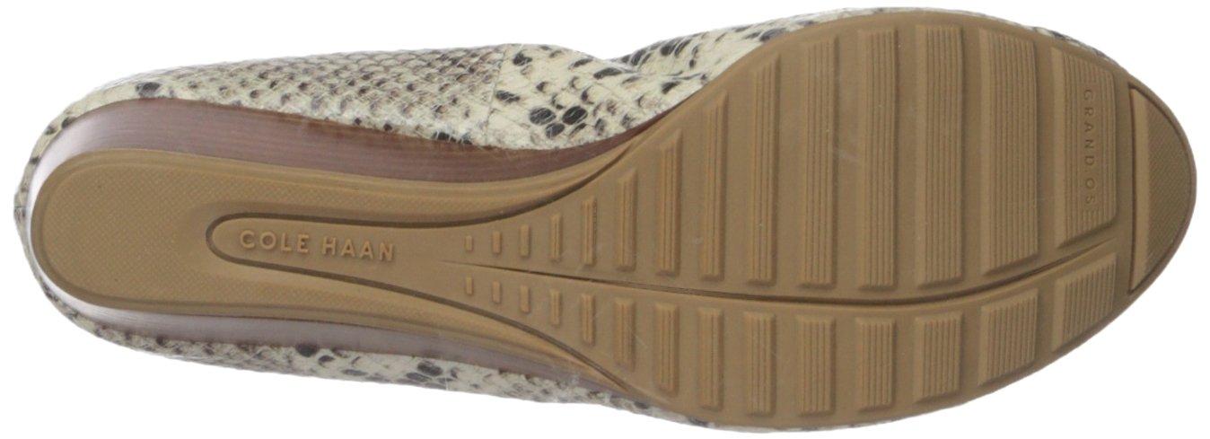 Cole Haan Women's Tali Grand Lace 7.5 Wedge 40 Pump B00TEABQRS 7.5 Lace B(M) US Sahara Snake Print 1d9973
