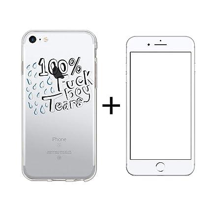 Amazon.com: Carcasa transparente para iPhone 6 y 6S, 100 ...