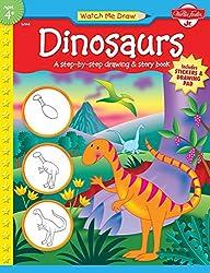 Watch Me Draw: Dinosaurs