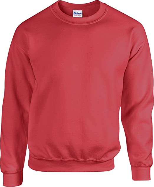 ab34aef5 Gildan Heavy Blend Adult Crew Neck Sweatshirt - 31 Colours/Sml-2XL at Amazon  Men's Clothing store: