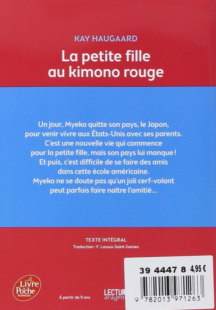 La Petite Fille Au Kimono Rouge French Edition
