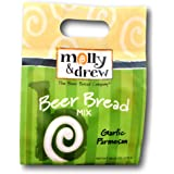 molly&drew Beer Bread Mix (20.10 Ounce) Garlic Parmesan