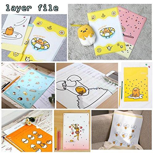 [Gift Wrap] Sanrio Lazy Egg GUDETAMA Assorted School Supply Stationary Gift Set