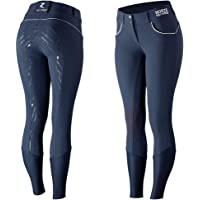 HORZE Pantalones de Montar para Mujer de Alto