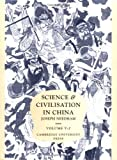 Image of 005: Science and Civilisation in China: Volume 5, Chemistry and Chemical Technology; Part 2, Spagyrical Discovery and Invention: Magisteries of Gold and Immortality