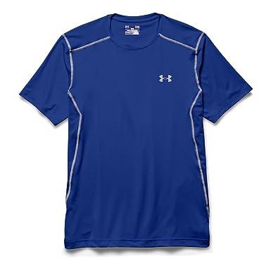 Under Armour UA Raid SS Camiseta de Manga Corta, Men, Azul Oscuro (Royal