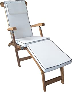 Cushion For Steamer Chair AM43 Made By Chic Teak, Only Fits Chic Teak  Furniture.