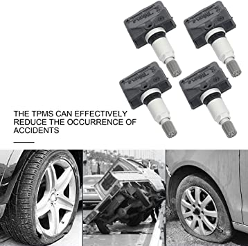 Amazon Com Cciyu Fits For 2012 2014 For Nissan Murano 2011 2013 For Nissan Sentra 2011 2012 For Nissan Versa Programmed Tire Pressure Monitoring System Sensor Tpms 315mhz 40700 1aa0d 4pcs Automotive
