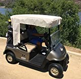 Formosa Golf Cart Sun Shade for 2 to 4 Seater Roof (up to 58'') - Stay Cool Comfortable and Rested to Play Your Best Game