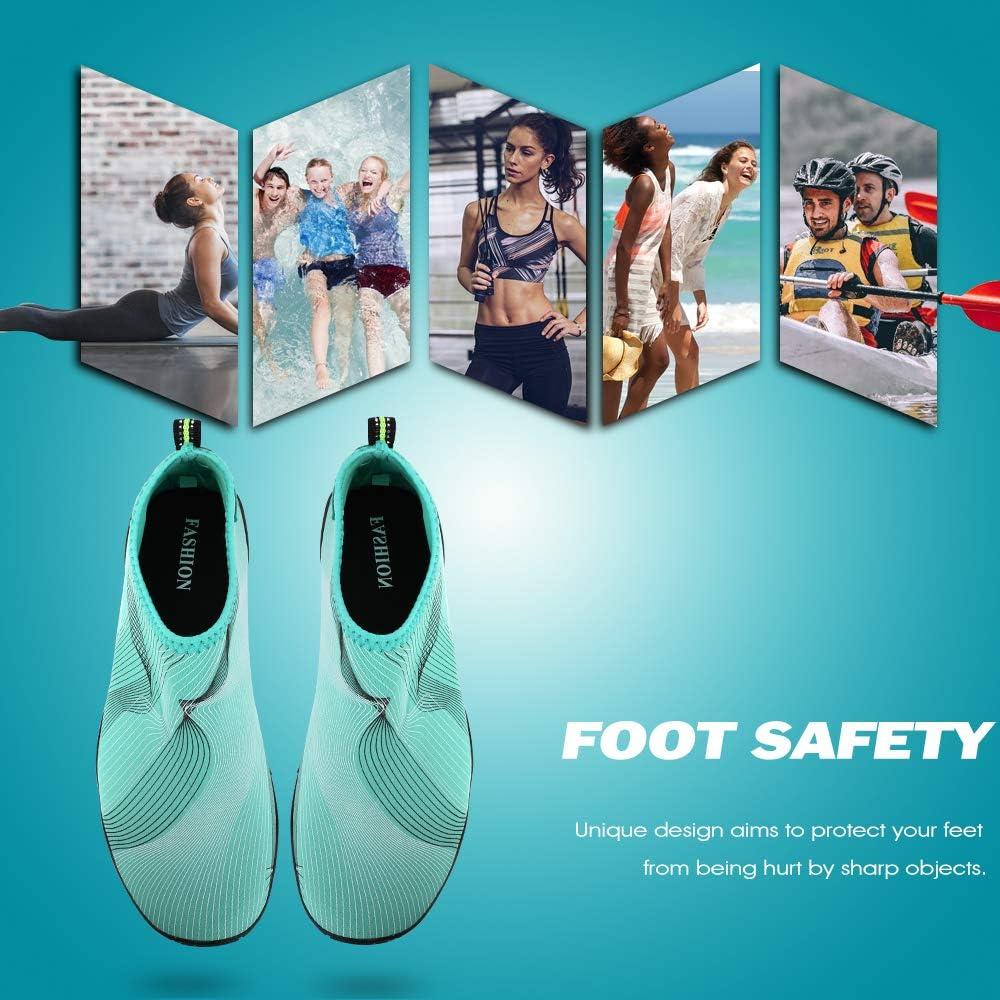 s/échage rapide aux pieds nus pour mixte adulte hiitave Chaussures deau pour les sports de plage