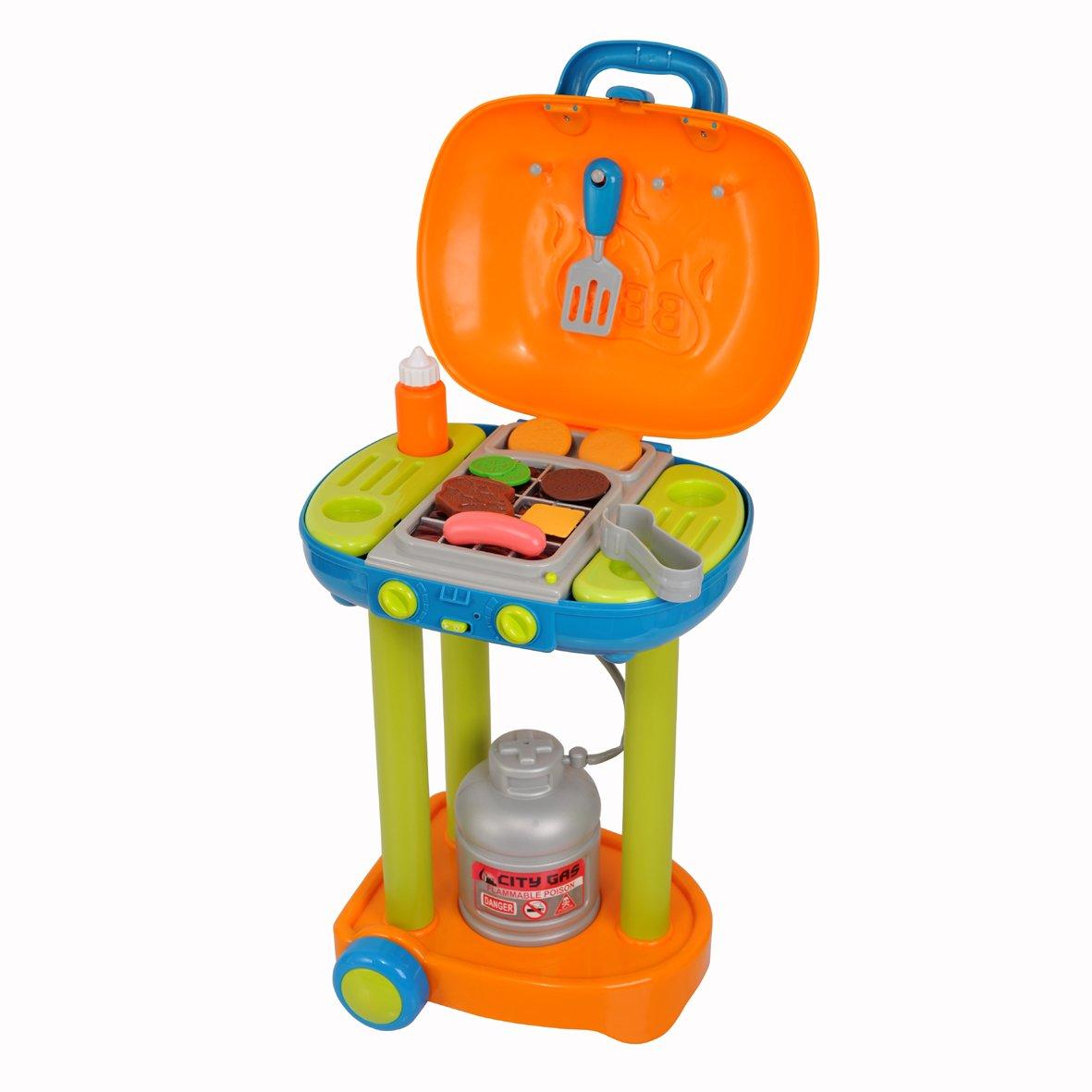 Spielzeug Grill - PlayGo Grillwagen