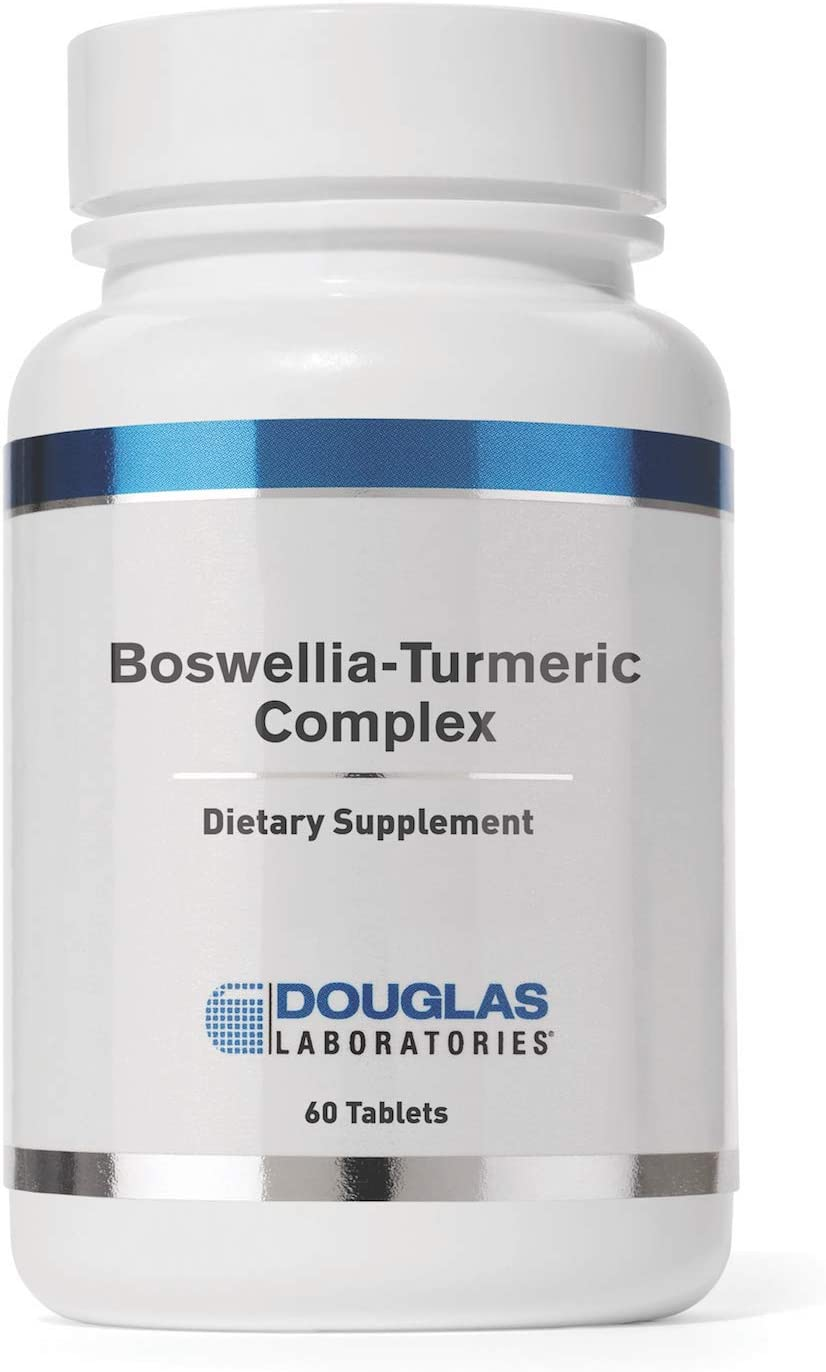 Douglas Laboratories - Boswellia-Turmeric Complex (Formerly Infla-Guard) - Botanical Extracts to Support Normal Recovery of Joints and Muscles - 60 Tablets