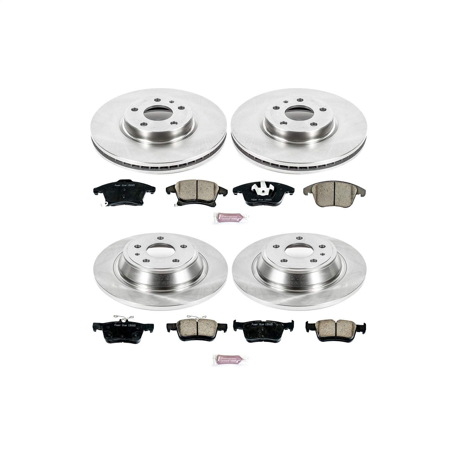 Power Stop KOE6556 Autospecialty Daily Driver OE Brake Kit by POWERSTOP