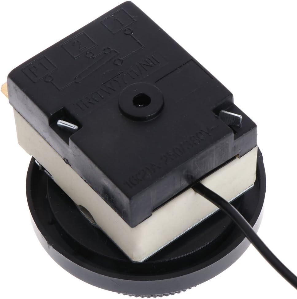 Siwetg 250V//380V 16A 0-60/°C Commutateur de contr/ôle de temp/érature Capillaire Thermostat Contr/ôl/é de Temp/érature Contr/ôleur de Temp/érature 0-60 degr/és