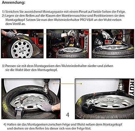 Wulstniederhalter Pro V M Für Reifen Montagemaschine Auto