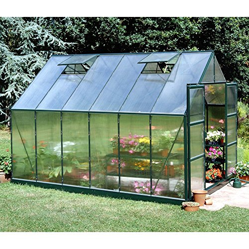 Halls Magnum Green 8 x 12-Foot Greenhouse