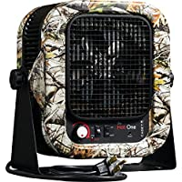 Cadet RCP402S Space Heater,The Hot One Portable with Bracket, 4000W, 20 Amp, Red