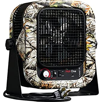 Cadet RCP502SCM Electric Portable Garage Camo Heater, 5000W