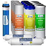 iSpring F15-75 2-Year Filter Replacement Supply Set For 5-Stage Reverse Osmosis Water Filtration Systems