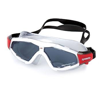 Speedo Rift Pro – Gafas de natación máscara – rojo/humo